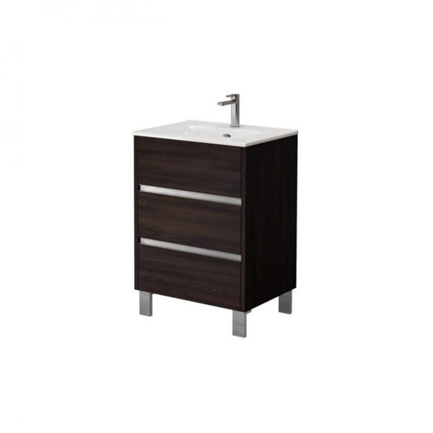 Picture of 151441 HARVEY 60CM 3DRAWER STANDING UNIT WENG