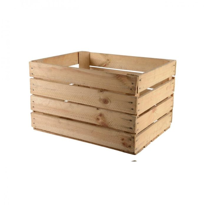 Picture of Natural Wooden Apple Crate