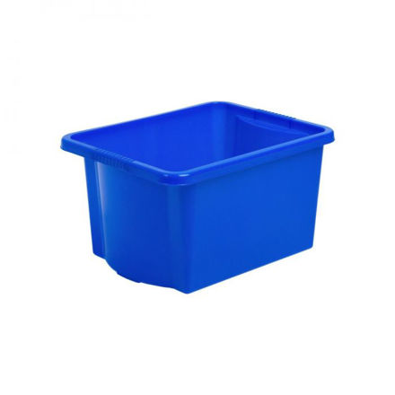 Picture of 15521 30l Stack & Store Box Blue