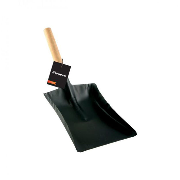 """Picture of SIROCCO 7"""" FIRE SHOVEL W/ HANDLE 29901 71176"""