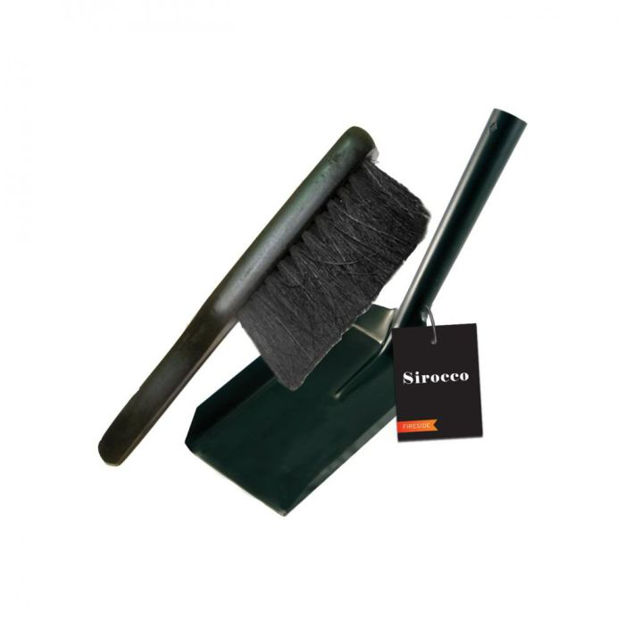 Picture of SIROCCO FIRE SHOVEL & BRUSH SET 55214 71178