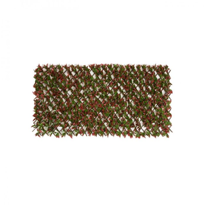 Picture of Artificial Red Variegated Beech Trellis - 100cm x 200cm