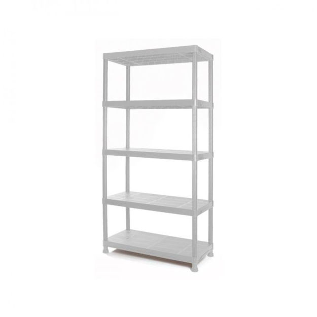 Picture of 4- 60160 TAYG PLASTIC SHELF GREY