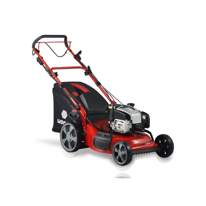 Picture of World Self Drive Steel Deck Battery Start Mower - 20in