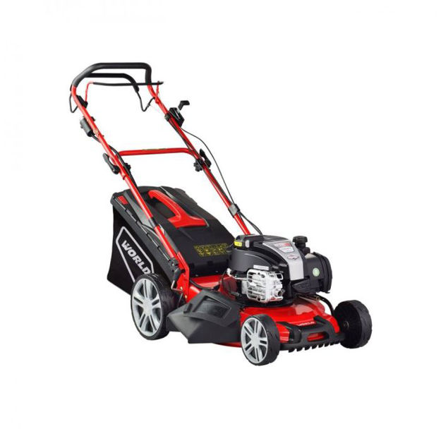 Picture of Self Propelled  Petrol Lawnmower With Steel Deck - 140cc - 18in