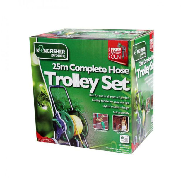 Picture of Complete Hose Trolley Set  - 25m