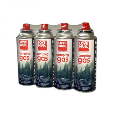 Picture of Butane Camping Gas Canisters - 4pk