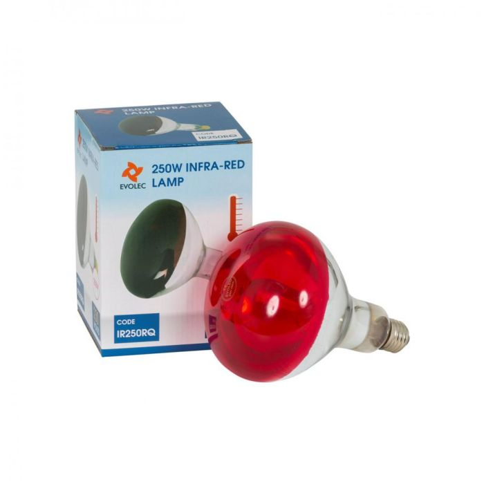 Picture of 250W ES E27 INFRA RED BULB NO.S5951  IR250RQ