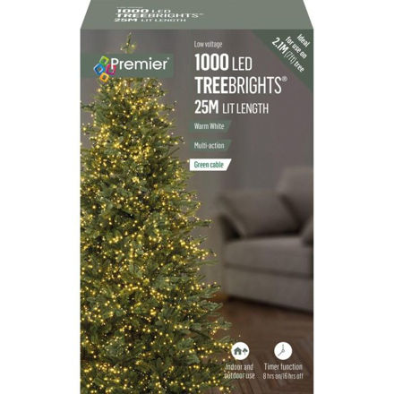Picture of 1000 LED Multi-Action Treebrights with Timer - Warm White