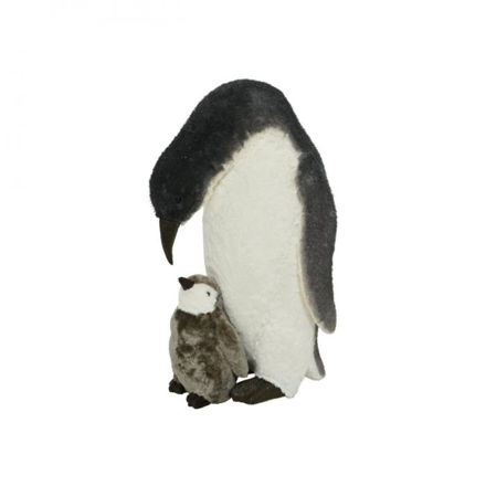 Picture of Foam Penguin with Baby - 70cm