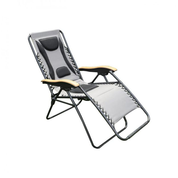 Picture of Deluxe  Zero Gravity Relaxer Chair - Grey