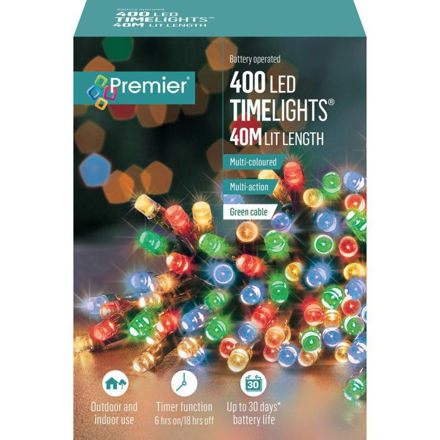 Picture of 400 LED Battery Operated Timelights - Multi-Coloured