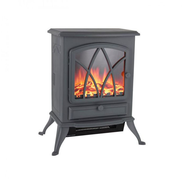 Picture of 160662 WARMLITE STIRLING ELECTRIC STOVE FIRE