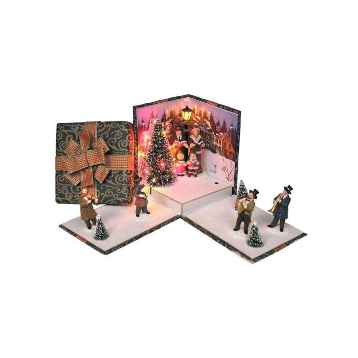 Picture of Boxed Victorian Carol Scene