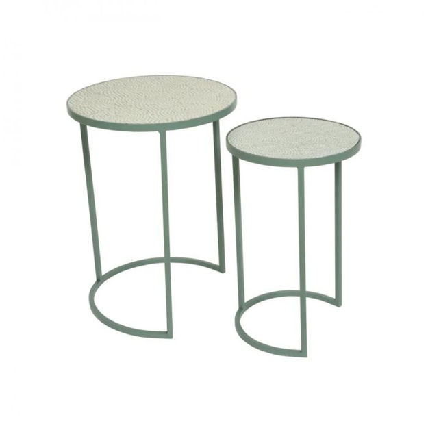 Picture of Casablanca Mosaic Side Tables - Set of 2