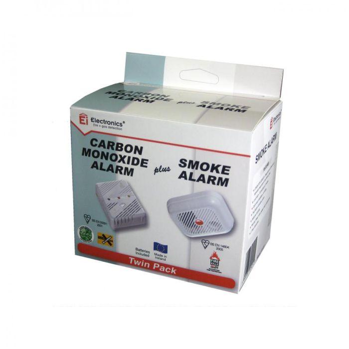 Picture of Smoke & Carbon Monoxide Alarm Twin Pack - Ei122
