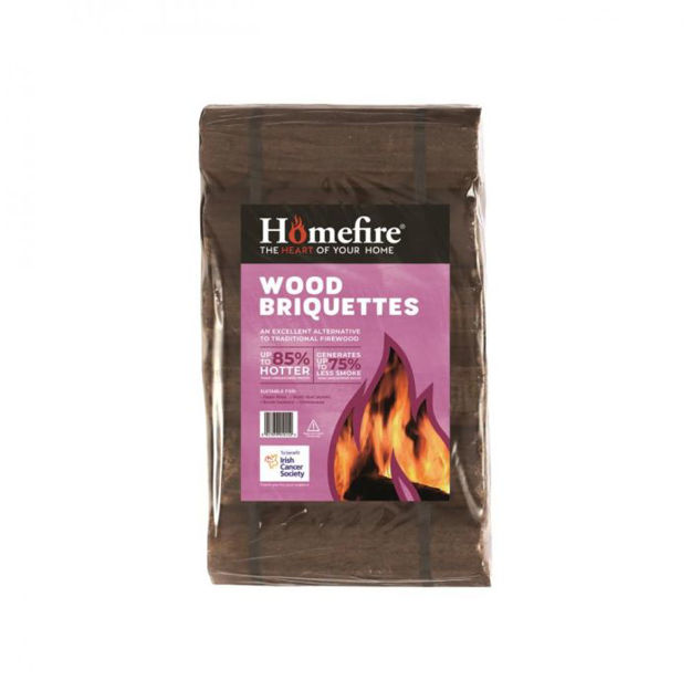 Picture of 12PK HOMEFIRE WOOD BRIQUETTES 71505 PINK LAB