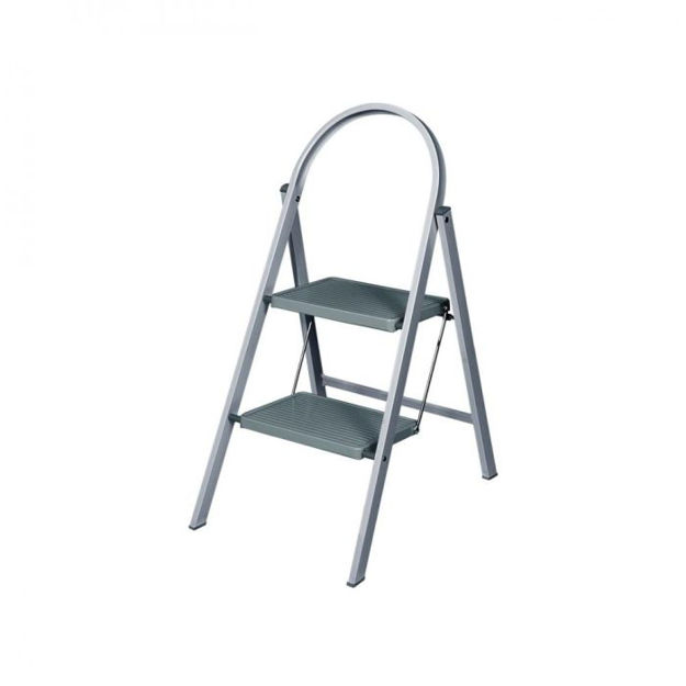 Picture of WERNER 2T STEPSTOOL GREY 50129