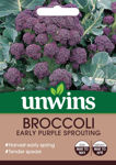 Picture of Unwins Broccoli Early Purple Sprout