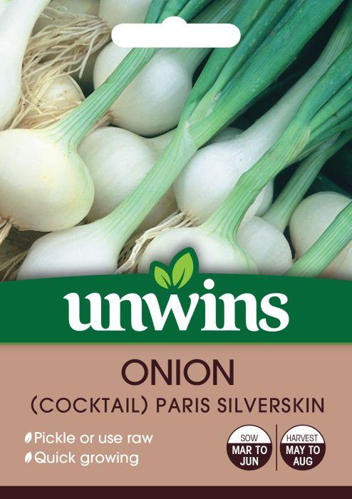 Picture of Unwins Onion Cocktail Paris Silverskin