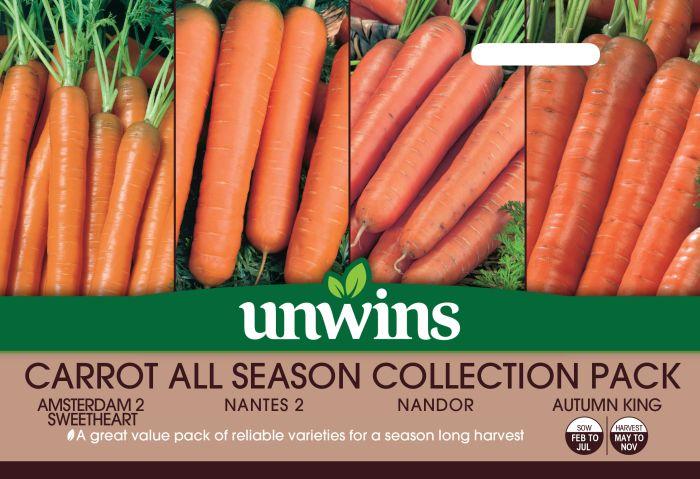 Picture of Unwins Carrot All Season Veg