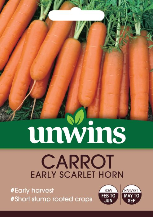 Picture of Unwins Carrot Early Scarlet Horn