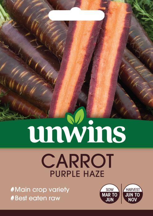 Picture of Unwins Carrot Purple Haze Veg