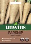 Picture of Unwins Parsnip White Gem Veg
