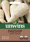 Picture of Unwins Parsnip White Spear