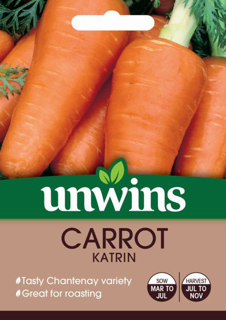 Picture of Unwins Carrot Katrin Seeds
