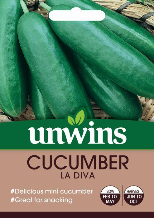 Picture of Unwins Cucumber Mini La Diva F1