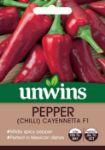 Picture of Unwins Chilli Pepper Cayennetta F1