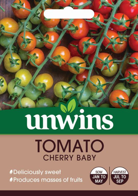 Picture of Unwins Tomato Cherry Baby Seeds