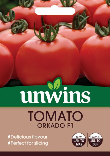 Picture of Unwins Tomato Orkado F1 Seeds