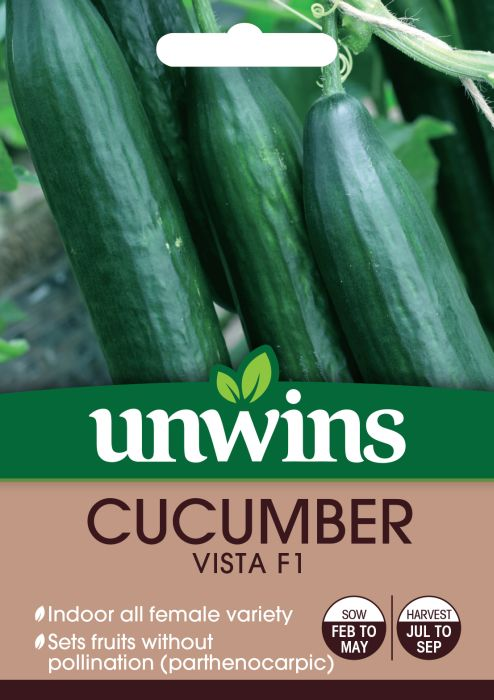 Picture of Unwins Cucumber Vista F1 Recommeneded