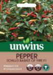 Picture of Unwins Chilli Pepper Basket Fire F1