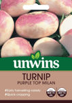 Picture of Unwins Turnip Purple Top Milan