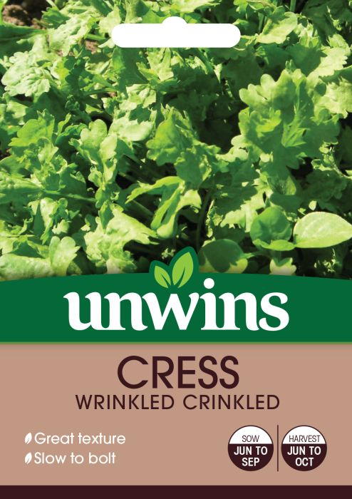 Picture of Unwins Cress Wrinkled Crinkle Vegetable