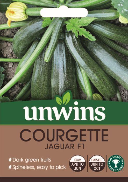 Picture of Unwins Courgette Jaguar F1