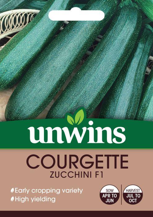 Picture of Unwins Courgette Zucchini F1