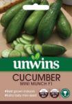 Picture of Unwins Cucumber Mini Munch F1