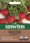 Picture of Unwins Radish Globe Annabel F1