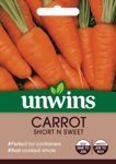 Picture of Unwins Carrot Patio Short N Sweet