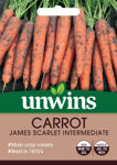 Picture of Unwins Carrot James Scarlet Intermed