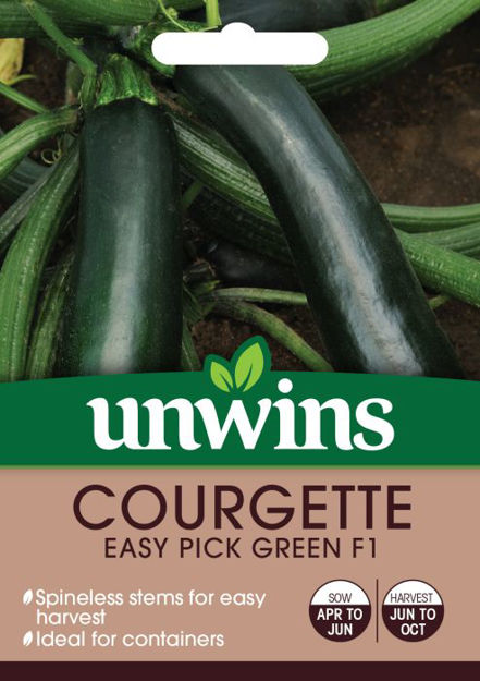 Picture of Unwins Courgette Easy Pick F1