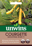 Picture of Unwins Courgette Shooting Star F1