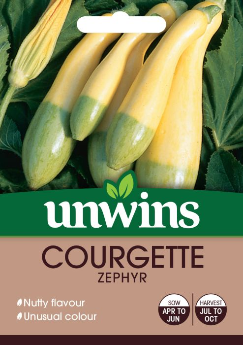 Picture of Unwins Courgette Zephyr