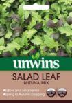 Picture of Unwins Salad Leaf Mizuna Mix
