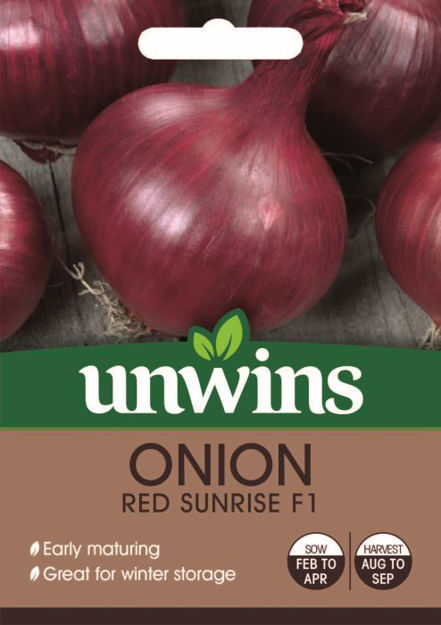 Picture of Unwins Onion Red Sunrise F1