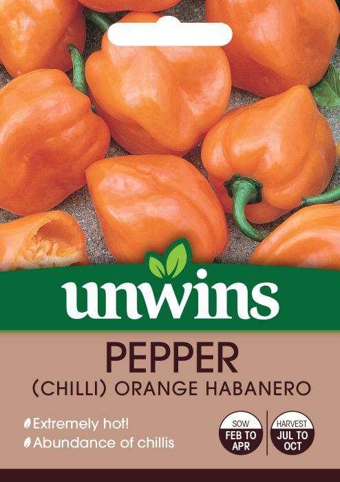 Picture of Unwins Chilli Pepper Orange Habanero